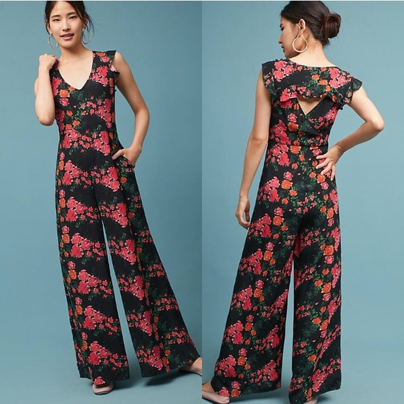 565fada7251 Tracy Reese Laurette V-Neck Jumpsuit